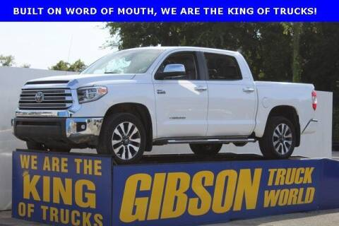 2018 Toyota Tundra for sale at Gibson Truck World in Sanford FL
