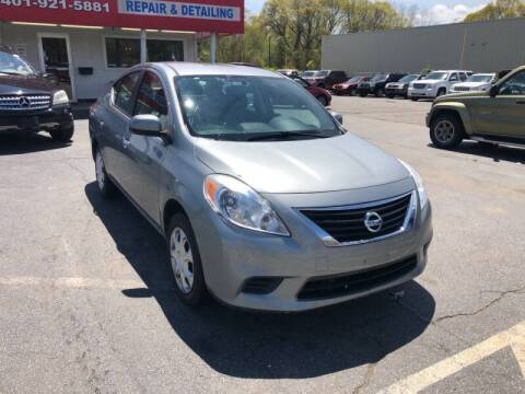 2012 Nissan Versa for sale at Sandy Lane Auto Sales and Repair in Warwick RI