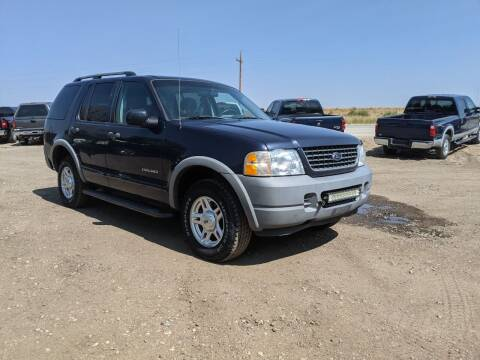 2002 Ford Explorer for sale at HORSEPOWER AUTO BROKERS in Fort Collins CO