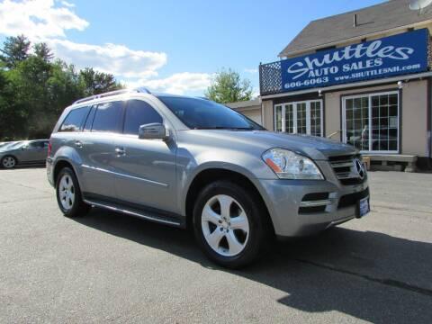 2012 Mercedes-Benz GL-Class for sale at Shuttles Auto Sales LLC in Hooksett NH
