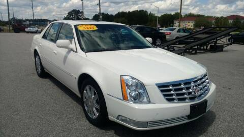 2008 Cadillac DTS for sale at Kelly & Kelly Supermarket of Cars in Fayetteville NC
