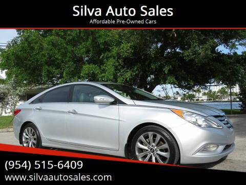 2013 Hyundai Sonata for sale at Silva Auto Sales in Pompano Beach FL