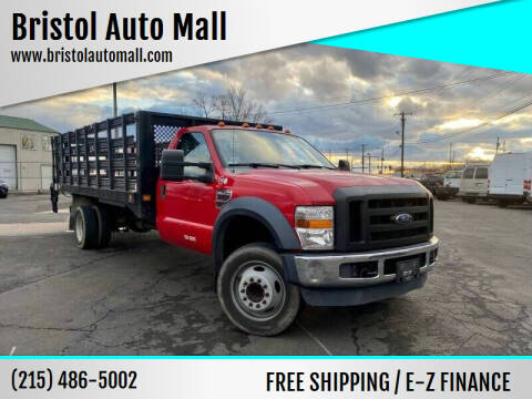 2008 Ford F-550 Super Duty for sale at Bristol Auto Mall in Levittown PA
