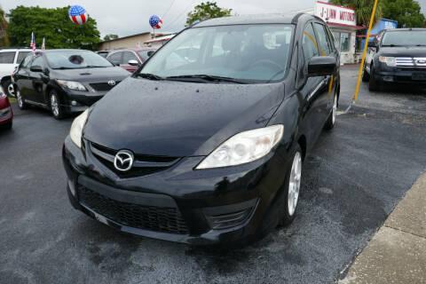2010 Mazda MAZDA5 for sale at J Linn Motors in Clearwater FL