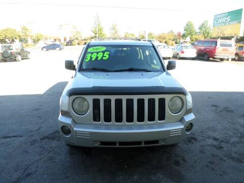 2007 Jeep Patriot for sale at Credit Cars of NWA in Bentonville AR
