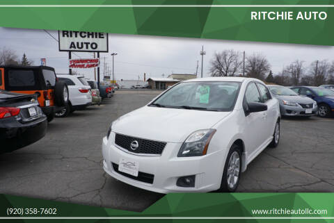 2011 Nissan Sentra for sale at Ritchie Auto in Appleton WI