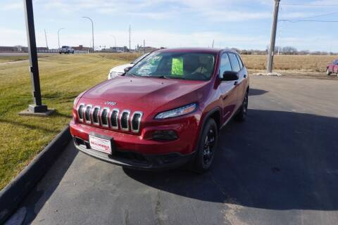 2014 Jeep Cherokee for sale at Ideal Wheels in Sioux City IA