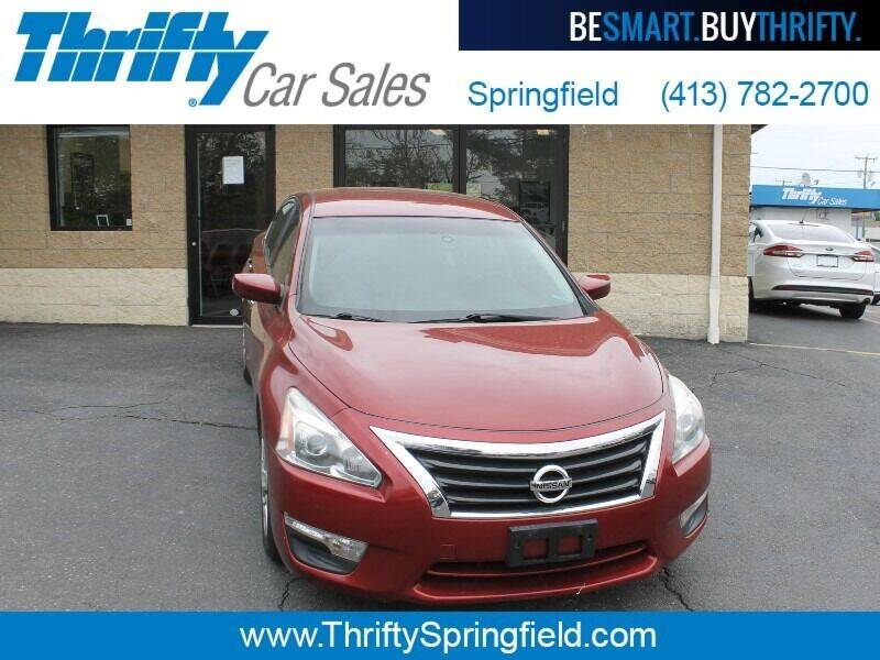 2015 Nissan Altima for sale at Thrifty Car Sales Springfield in Springfield MA