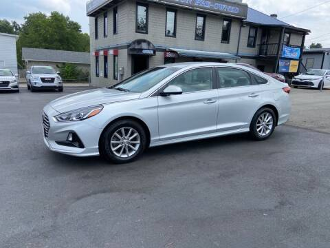 2018 Hyundai Sonata for sale at Sisson Pre-Owned in Uniontown PA
