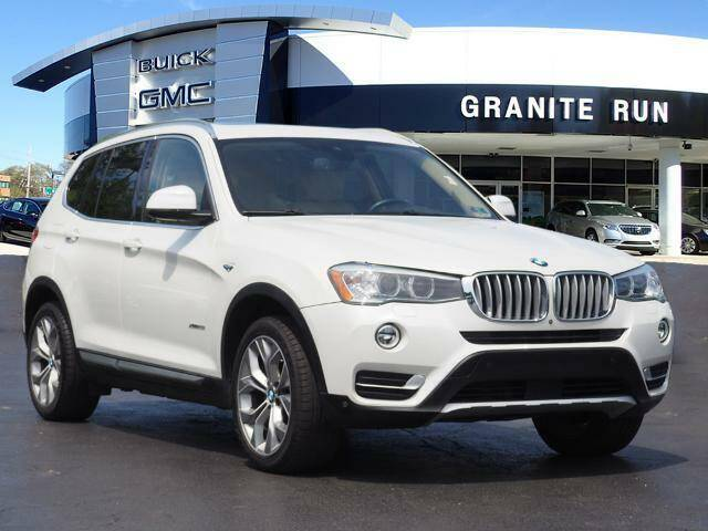 2017 BMW X3 for sale at GRANITE RUN PRE OWNED CAR AND TRUCK OUTLET in Media PA