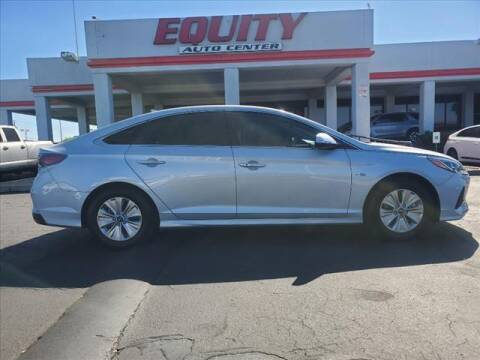 2018 Hyundai Sonata Hybrid for sale at EQUITY AUTO CENTER in Phoenix AZ