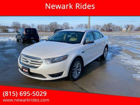 2013 Ford Taurus for sale at Newark Rides in Newark IL