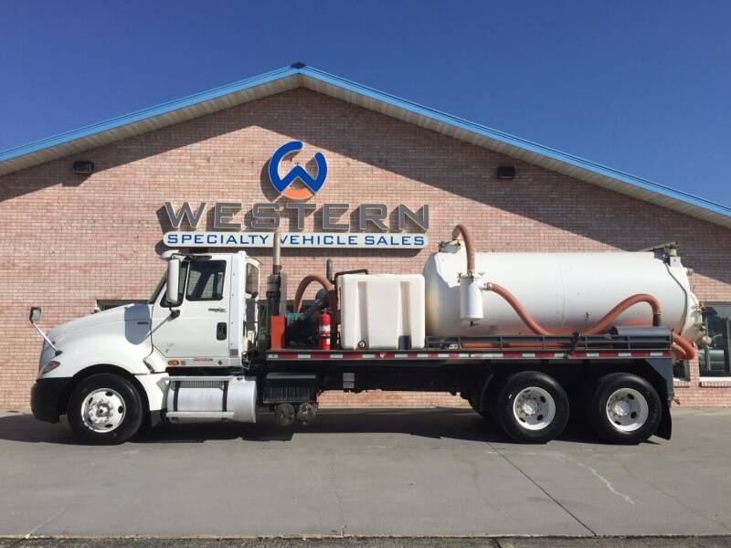 2011 International Vacuum Truck for sale at Western Specialty Vehicle Sales in Braidwood IL