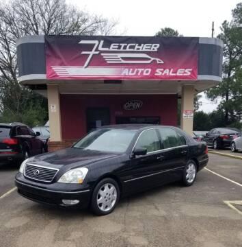 2003 Lexus LS 430 for sale at Fletcher Auto Sales in Augusta GA