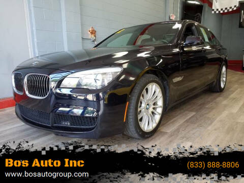 2012 BMW 7 Series for sale at Bos Auto Inc-Boston in Jamaica Plain MA