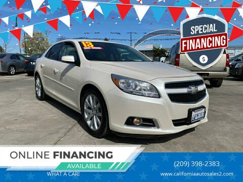 2013 Chevrolet Malibu for sale at CALIFORNIA AUTO SALE 2 in Livingston CA