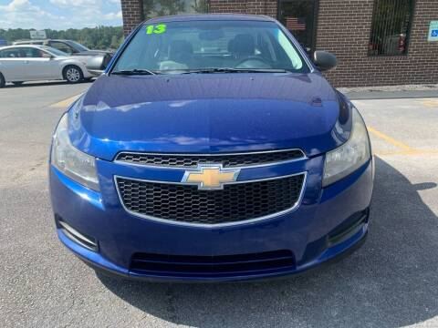 2013 Chevrolet Cruze for sale at Greenville Motor Company in Greenville NC