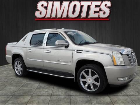 2008 Cadillac Escalade EXT for sale at SIMOTES MOTORS in Minooka IL