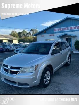 2010 Dodge Journey for sale at Supreme Motors in Tavares FL