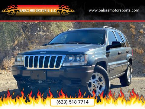 2003 Jeep Grand Cherokee for sale at Baba's Motorsports, LLC in Phoenix AZ