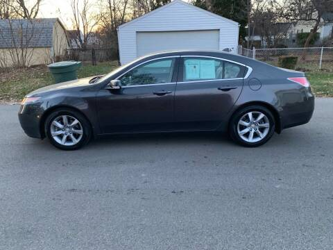 2012 Acura TL for sale at Via Roma Auto Sales in Columbus OH