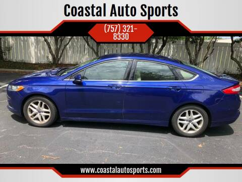 2015 Ford Fusion for sale at Coastal Auto Sports in Chesapeake VA