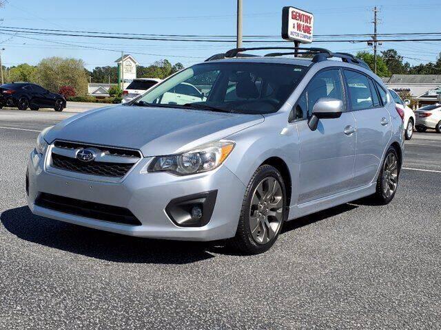 2014 Subaru Impreza for sale at Gentry & Ware Motor Co. in Opelika AL