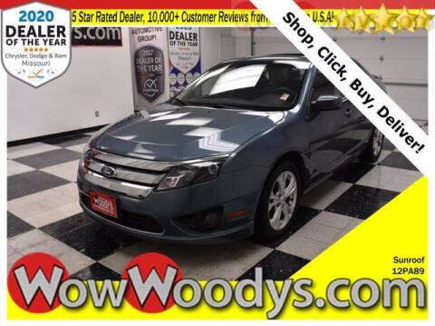 2012 Ford Fusion for sale at WOODY'S AUTOMOTIVE GROUP in Chillicothe MO