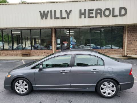 2011 Honda Civic for sale at Willy Herold Automotive in Columbus GA