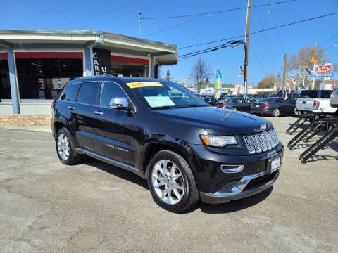 2014 Jeep Grand Cherokee for sale at Imports Auto Sales & Service in San Leandro CA
