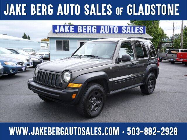 2005 Jeep Liberty for sale at Jake Berg Auto Sales in Gladstone OR