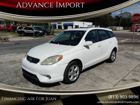 2008 Toyota Matrix for sale at Advance Import in Tampa FL