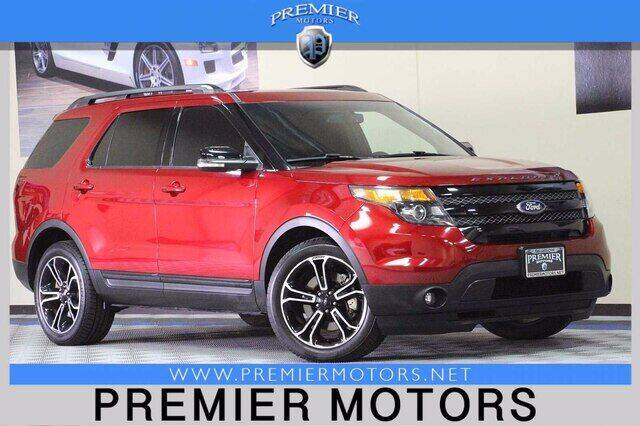 2015 Ford Explorer for sale at Premier Motors in Hayward CA