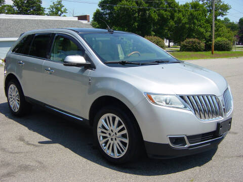 2014 Lincoln MKX for sale at North South Motorcars in Seabrook NH