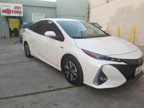2017 Toyota Prius Prime for sale at Joy Motors in Los Angeles CA