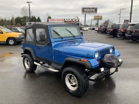1993 Jeep Wrangler for sale at Maxx Autos Plus in Puyallup WA