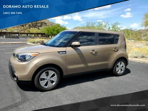 2016 Kia Soul for sale at DORAMO AUTO RESALE in Glendale AZ
