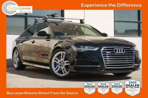 2016 Audi A6 for sale at Dallas Auto Finance in Dallas TX