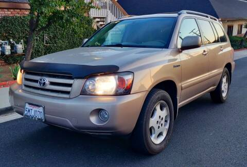 2004 Toyota Highlander for sale at Apollo Auto El Monte in El Monte CA