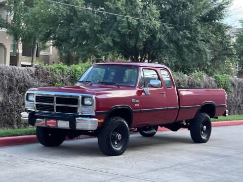 1992 Dodge RAM 250 for sale at RBP Automotive Inc. in Houston TX