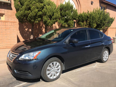 2014 Nissan Sentra for sale at Freedom  Automotive in Sierra Vista AZ