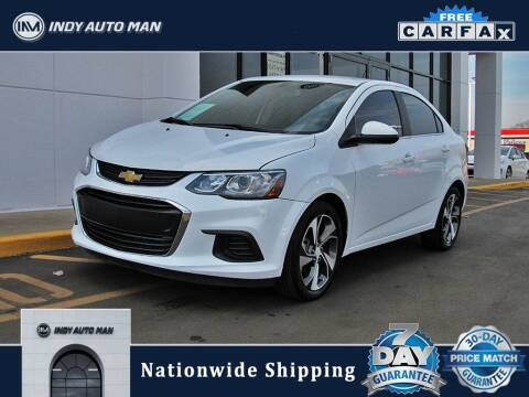 2019 Chevrolet Sonic for sale at INDY AUTO MAN in Indianapolis IN