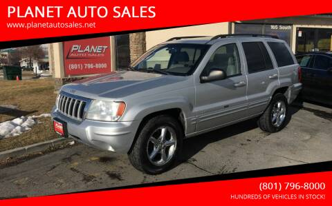 2004 Jeep Grand Cherokee for sale at PLANET AUTO SALES in Lindon UT