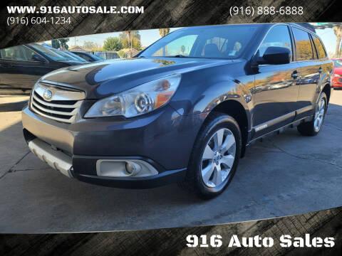 2012 Subaru Outback for sale at 916 Auto Sales in Sacramento CA