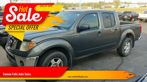 2005 Nissan Frontier for sale at Cannon Falls Auto Sales in Cannon Falls MN
