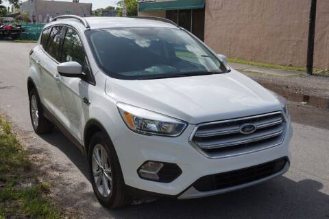 2018 Ford Escape for sale at SUPER DEAL MOTORS 441 in Hollywood FL