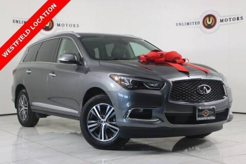 2020 Infiniti QX60 for sale at INDY'S UNLIMITED MOTORS - UNLIMITED MOTORS in Westfield IN