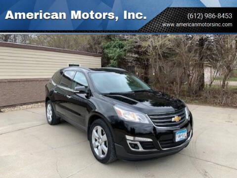 2016 Chevrolet Traverse for sale at American Motors, Inc. in Farmington MN