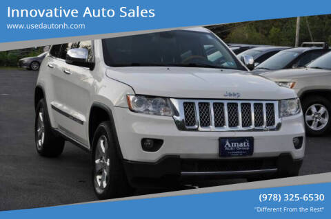 2011 Jeep Grand Cherokee for sale at Innovative Auto Sales in North Hampton NH
