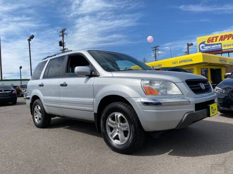 2003 Honda Pilot for sale at New Wave Auto Brokers & Sales in Denver CO